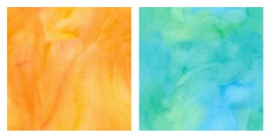 Flickr set of watercolor samples