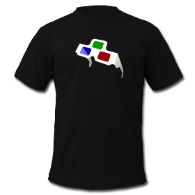 4D Glasses T-shirt