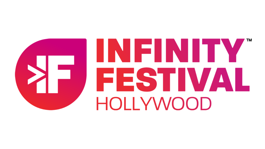 """Infinity Festival Hollywood"" logo"